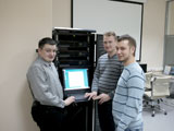 Monitor Electric specialists at Moscow branch test for compatibility CK-2007 and ASUTP PS based on Siemens equipment.