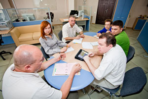 Voronezh branch. Working session